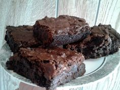 "extreme chocolate brownies! 4.61 stars, 24 reviews. ""chocoholics dream! (L)"" @allthecooks #recipe #brownies #dessert #chocolate #easy #cold"