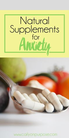 Could natural supplements be the key to getting your anxiety under control? They have made a HUGE difference for me!