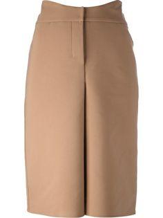 Agnona Pleated Pencil Skirt