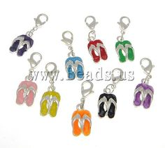 Barbados Charm With Lobster Claw Clasp Charms for Bracelets and Necklaces