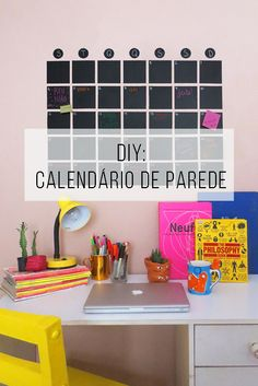 New Home Office Quarto Diy Decor 64 Ideas Deco Tumblr, Room Decor Bedroom, Diy Room Decor, Do It Yourself Inspiration, Diy Casa, Ideias Diy, Home Office Decor, Home Decor, Papel Contact