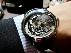 Audemars Piguet Millenary 4101. Looks like a watch straight out of a James Bond movie.