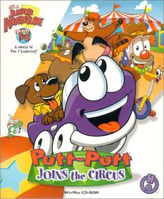 Putt-Putt Joins the Circus!! Does anybody else remember this game?!