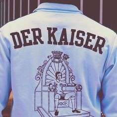 The Franz Beckenbauer Der Kaiser 1974 Retro Track Top by #Adidas #Originals