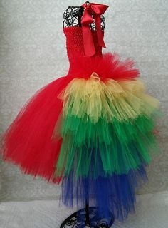 Parrot Tutu Costume Dress by GigglesandWiggles1 on Etsy More