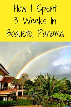 Boquete, Panama is my home away from home. Nestled at over 3K feet elevation, it is the town beneath the mammoth Volcan Baru. We are a huge expat community of mostly Europeans, Amiercans, and Canadians, plus the indigenous Indians of Panama and around 10K Panamians.