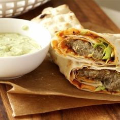 Spicy Lentil Wrap with Tahini Sauce - easy, healthy vegan wrap that ...