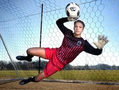 soccer goalie senior pictures - Google Search