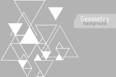 Set of 4 vector abstract geometric backgrounds. You can use it for your website backgrounds, banners, posters, packaging, printed paper items etc. Eps Vector, Vector File, Conference Branding, Geometric Wall Paint, Wall Painting Decor, Black N White, Abstract Backgrounds, Geometry, Photo Art