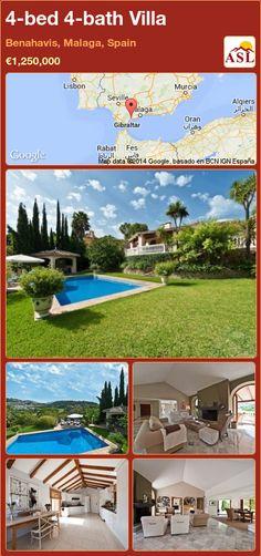 4-bed 4-bath Villa in Benahavis, Malaga, Spain ►€1,250,000 #PropertyForSaleInSpain