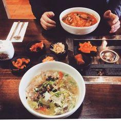 Jam Bong and Duk Mandu Kuk #avleats #foodie #asheville #ashevilleeats #ashevillefoodie