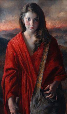 Arsen Kurbanov 1969 - Russian Portrait painter