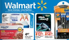 New 2013 Walmart Weekly Ad