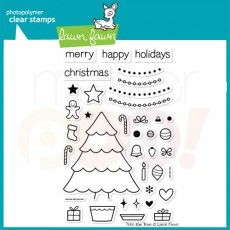 Lawn Fawn Clear Stamp - Trim the Tree
