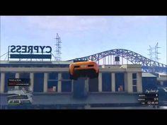 GTA V Custom Race BIGGEST Jumps - EXTREMES! - EPIC SPIN JUMP ON BRIDGE!