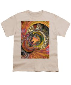 Monaco 1960s - Full Color, Orange - By Will Barger ~ Youth T-Shirt - 27 Available Colors in Sizes S-2XL in 100% pre-shrunk cotton, machine washable. ~~ SHOWN HERE (rough mockup) on CREAM, with artwork zoomed in to fill the maximum print area. You can resize and/or move the art to suit your tastes. Printed only to your order and shipped worldwide by our production partner, Fine Art America with a 30-day, money-back, no-questions-asked guarantee.