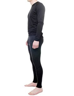 Mens 100 Merino Lightweight 195g THOR BottomsMediumAnthracite -- Click on the image for additional details.