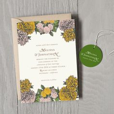 Southern Belle Wedding Invitations - Wedding Invitations - Wedding | Smitten on Paper