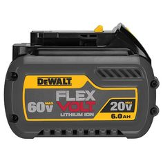 DEWALT DCB606 2060V MAX FLEXVOLT 60 Ah Battery Pack >>> Read more reviews of the product by visiting the link on the image. Note: It's an affiliate link to Amazon