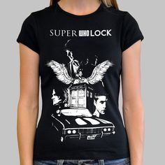 Superwholock shirt. You don't understand how much I need this.