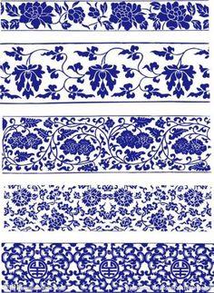 Trendy Kitchen Backsplash Blue And White 70 Ideas Blue And White China, Blue China, Delft, Chinoiserie, Creation Art, Chinese Patterns, New Kitchen Designs, Blue Pottery, White Decor