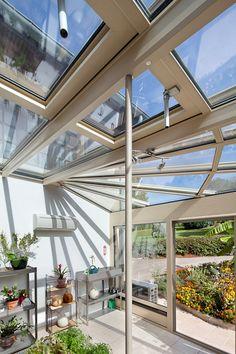 1000 images about veranda jardin d 39 hiver on pinterest for Fenetre a tabatiere