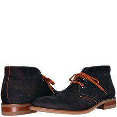 Donald J Pliner ELIOT Boots in Expresso Wash Suede