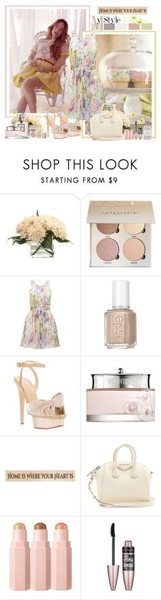 """""""Sweet Tones"""" by croatia ❤ liked on Polyvore featuring Distinctive Designs, Forever New, Essie, Charlotte Olympia, Valentino, DutchCrafters, Givenchy, Sephora Collection, Maybelline and Henri Bendel"""