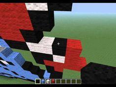 Minecraft Pixel Art   EP 3 - Totodile (Pokemon)
