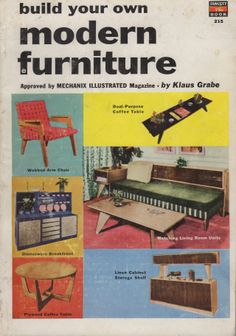 Do it yourself furniture by harry butler golden handsmarshall build your own modern furniture by klaus grabe 1954 hippli books photo solutioingenieria Images