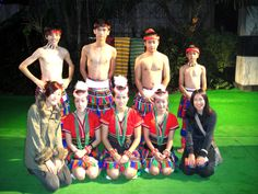 Biyang Sun - Fall 2012 - Individual Approval program - Culture & Communities - Hualien, Taiwan - Taiwanese Aborigines - I travel to Hualien (a city in Taiwan) by myself, during which I met many local and international friends. Here is I picture I took with local performers, who are Taiwanese Aborigines.