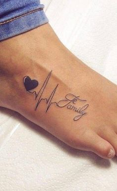 80 great foot tattoos for inspiration Top tattoos – tattoo feminina – foot tattoos for women Mommy Tattoos, Baby Tattoos, Family Tattoos, Mini Tattoos, Top Tattoos, Tatoos, Meaningful Tattoos For Women, Wrist Tattoos For Women, Small Wrist Tattoos
