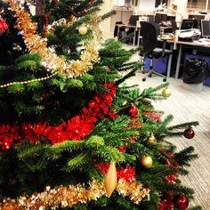 Sapin de Noël au bureau © Aurélie Fauré