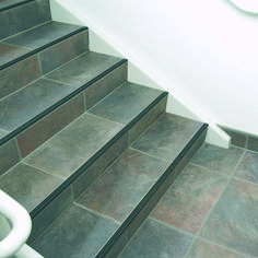 You don't have to sacrifice style for safety when it comes to tiling stairs. Visit our tile showroom to view our selection and get expert installation tips!