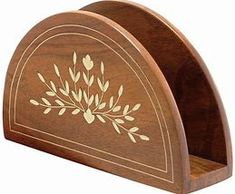 YEAR END DEALS Napkin Holder SouvNear Wooden Napkin Holder with Petal Motifs Inlay Work Decorative Centrepiece for Table Kitchen Dining Table Accessories >>> Discover more by seeing the photo link. (This is an affiliate link). Wooden Dining Tables, Dining Table In Kitchen, Handmade Table, Handmade Wooden, Wooden Art, Wooden Crafts, Tabletop Accessories, Kitchen Accessories, Wood Carving Designs