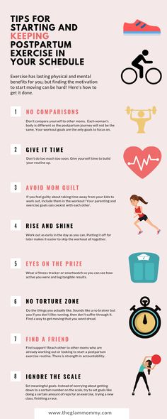 How To Start Postpartum Exercise Find the motivation to workout after having a baby. The benefits are well worth it! Workouts to do at home for busy moms. Postpartum exercise, workout for moms,. Postpartum Workout Plan, Post Pregnancy Workout, Postpartum Recovery, Postpartum Care, Pregnancy Tips, Postpartum Fashion, Prenatal Workout, Early Pregnancy, Pregnancy Shirts