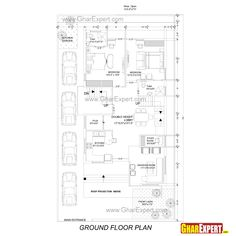 20 X 50 House Plans Inspirational Tag for 30 60 House Design Indian House Plans with House Plan With Loft, Small House Floor Plans, Cottage Style House Plans, 4 Bedroom House Plans, Duplex House Plans, Ranch House Plans, Plumbing Drawing, Single Storey House Plans, Indian House Plans