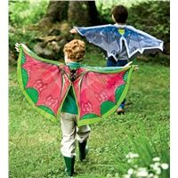 Fabric Wings with collar and finger loops