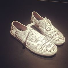 Tribal print vans!..where have you been all my life.............:P