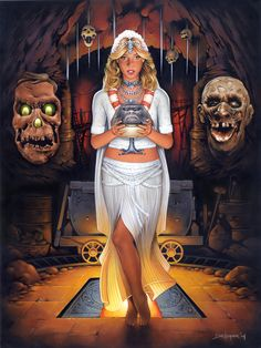 Indiana Jones and the Temple of Doom Woman of Indiana Jones Series By DAVE NESTLER