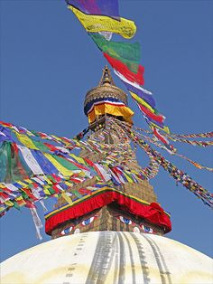 Le stupa de Bodhnath (Népal)