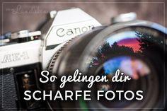 Nie wieder verwackelte Bilder oder verrutschter Fokus: in diesem Tutorial lernst du ein paar einfache Tipps und Tricks, wie dir scharfe Fotos gelingen. :)