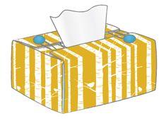 L A R A  C A M E R O N  D E S I G N  tissue box cover tutorial