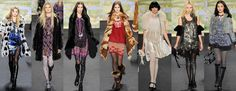 There isnt one outfit that Anna Sui desined without an amazing pattern
