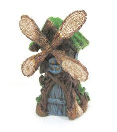 Fairy Garden Resin Mini Windmill House