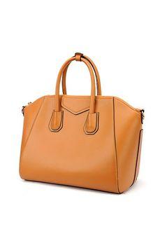 ysl black clutch bag - Simple Elegant Celebrity Zipped Shoulder Bag - OASAP.com ...