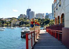 Sydney, Australia, Port, Pomost Sydney Australia