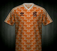 Holland home shirt for the 1988 European Championships.