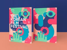The Korean Film Festival: Design & Illustration by Il-Ho Jung Cover Design, Cl Design, Book Design, Print Design, Corporate Design, Branding Design, Festival Posters, Art Festival, Festival 2016
