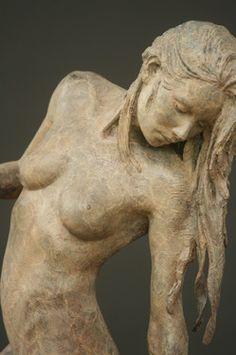 Michael Talbot, bronze Sculpture.